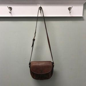 Cole Haan brown crossbody bag